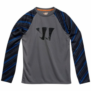 Warrior Printed Training Senior Long Sleeve Hockey Shirt - 2012