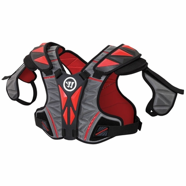 Warrior Regulator Hitman Lacrosse Shoulder Pads - Adult