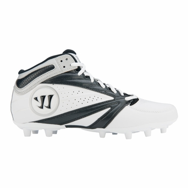 Warrior Second Degree 3.0 Adult Lacrosse Cleat - Black