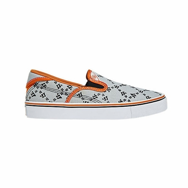 Warrior Swag Junior Shoes - Grey/Orange - 2012