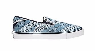 Warrior Swag Senior Shoes - Blue Plaid - 2012