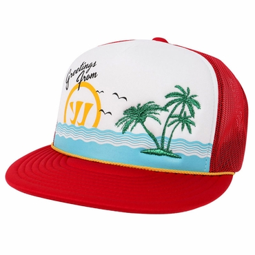 Warrior Vaycay Adult Trucker Lacrosse Hat