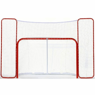 Winnwell Pro Hockey Goal - 2 Inch Posts, Quicknet Mesh and Backstop - 72 Inch