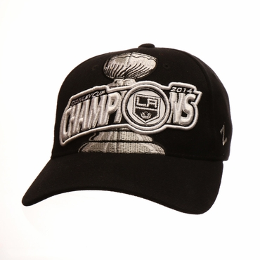 Zephyr 2014 Stanley Cup Champions Fitted Hockey Hat - Los Angeles Kings