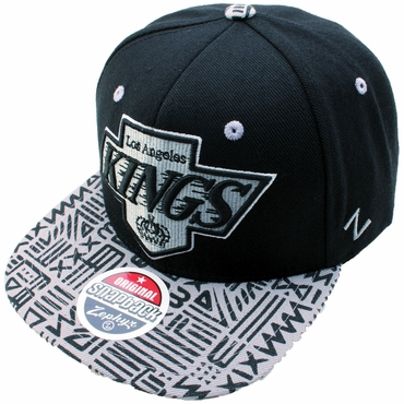 Zephyr Animal 32/5 Snapback Hockey Hat - Los Angeles Kings