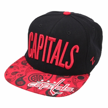 Zephyr Bandit Snapback Hockey Hat - Washington Capitals