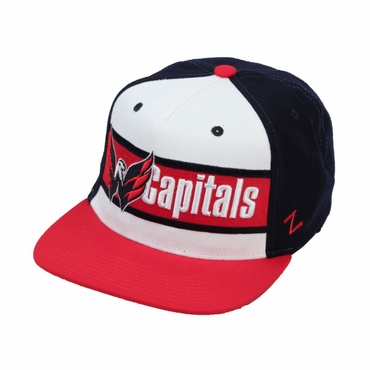 Zephyr Big Boy Adjustable Hockey Hat - Washington Capitals