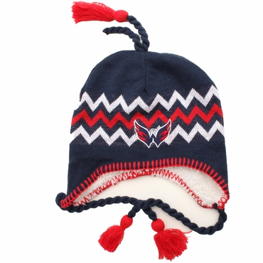 Zephyr Downhill Snapback Hockey Hat - Washington Capitals