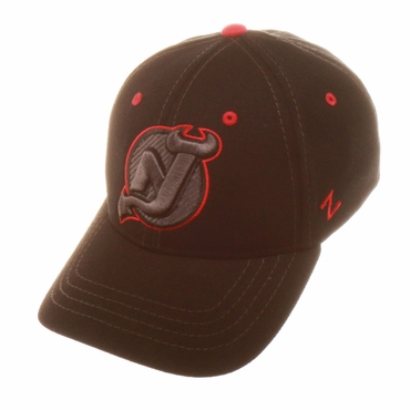 Zephyr Element Fitted Hockey Hat - New Jersey Devils