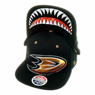Zephyr Menace Snapback Hockey Hat - Anaheim Ducks