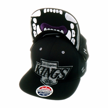 Zephyr Menace Snapback Hockey Hat - Los Angeles Kings
