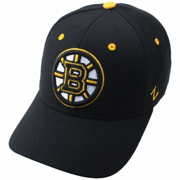 Zephyr Power Play Fitted Hockey Hat - Boston Bruins