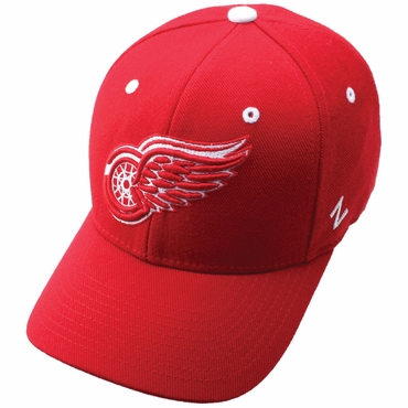 Zephyr Power Play Fitted Hockey Hat - Detroit Red Wings