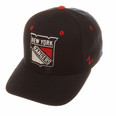 Zephyr Power Play Fitted Hockey Hat - New York Rangers