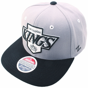 Zephyr Uppercut Fitted Hockey Hat - Los Angeles Kings