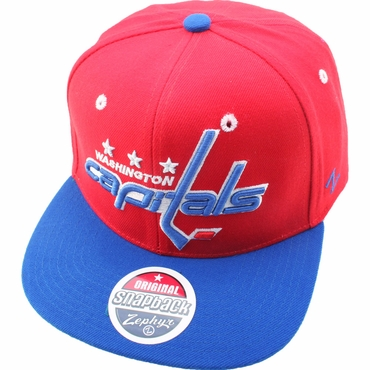 Zephyr Refresh 32/5 Adjustable Hockey Hat - Washington Capitals