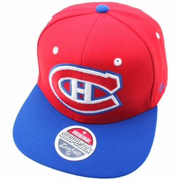 Zephyr Refresh Adjustable Hockey Hat - Montreal Canadiens