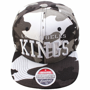 Zephyr Super Star Snapback Hockey Hat - Los Angeles Kings