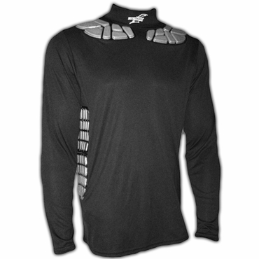 Zoombang Clavicle/Rib Senior Long Sleeve Loose Fit Padded Hockey Goalie Shirt