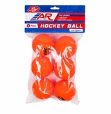 A&R Low Bounce Street Hockey Balls - 6pk