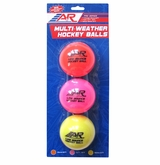 A&R Multi-Weather Low Bounce Balls - 3 Pack