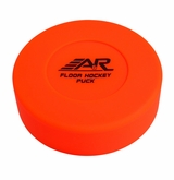 A&R Orange Hockey Floor Puck