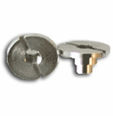 A&R Short Helmet Nut - Pair