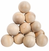 A&R Wood Stick Handling Ball - 12 Pack