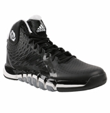 Adidas D Rose 773 II Men's Shoes - Black/White/Gray
