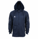 Adidas Pindot Coaches Full Zip Hooded Sweatshirt