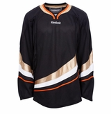 Old Anaheim Ducks Reebok Edge Gamewear Uncrested Junior Hockey Jersey