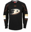 Anaheim Ducks Reebok Edge Sr. Long Sleeve Jersey Tee