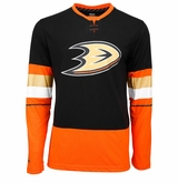 Anaheim Ducks Reebok Face-Off Sr. Long Sleeve Jersey Tee