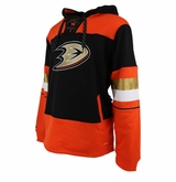 Anahem Ducks Reebok Face-off Team Jersey Sr. Hooded Sweatshirt