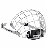 Bauer 5100 Face Mask - Silver