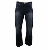 Bauer Boot Cut Fit Rinse Denim Jeans - Men