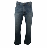 Bauer Boot Cut Fit Vintage Denim Jeans - Men