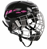 Bauer IMS 7.0 Custom Hockey Helmet w/ Face Cage