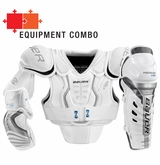 Bauer Nexus 600 Jr. Hockey Equipment Combo