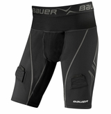 Bauer NG Premium Lockjock Sr. Compression Jock Short