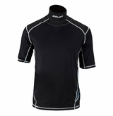 Bauer Premium Adult Shortsleeve Integrated Neck Top