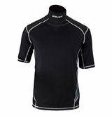 Bauer Premium Youth Shortsleeve Integrated Neck Top
