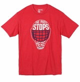 Bauer Puck Stops Here Sr. Short Sleeve Tee Shirt