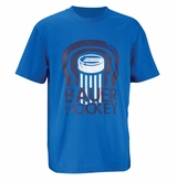 Bauer Puck Yth. Short Sleeve Tee Shirt