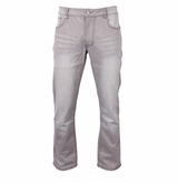 Bauer Relaxed Fit Grey Denim Jeans - Men