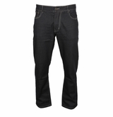 Bauer Relaxed Fit Raw Denim Jeans - Men
