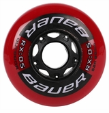 Bauer RX:05 Outdoor 82A Inline Hockey Wheel - Red