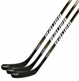 Bauer Supreme One60 Sr. Composite Hockey Stick - Black/Gold/White - 3 Pack