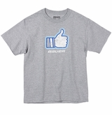 Bauer Thumbs Up Yth. Short Sleeve Tee Shirt