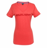 Bauer V-Neck Women's Short Sleeve